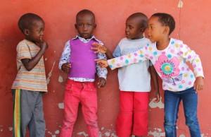 bambini-namibia
